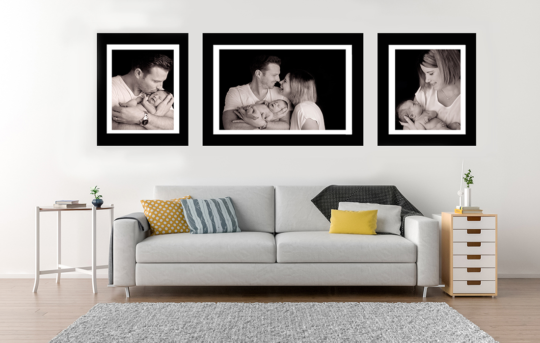 FRAMED PRINTS IN GALLERY SETS
